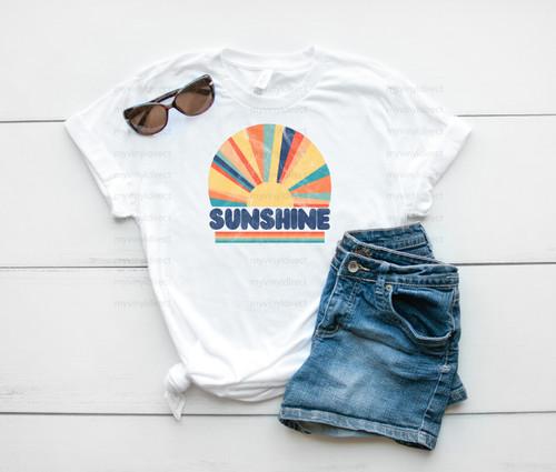 Vintage Sunshine | Sublimation Transfer