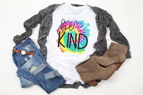Tie Dye Be Kind | Sublimation Transfer
