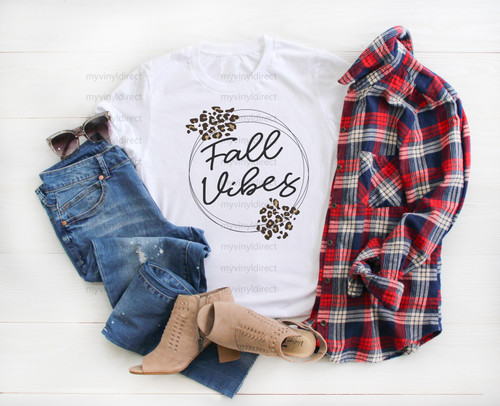 Fall Vibes | Sublimation Transfer