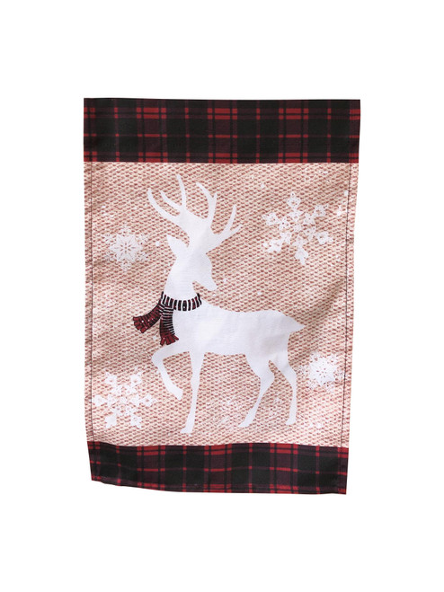 White Deer with Scarf