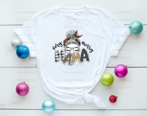Very Merry Mama | Christmas Sublimation Transfer
