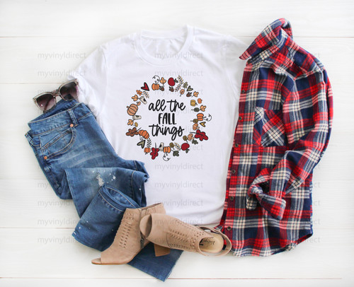 All The Fall Things | Sublimation Transfer