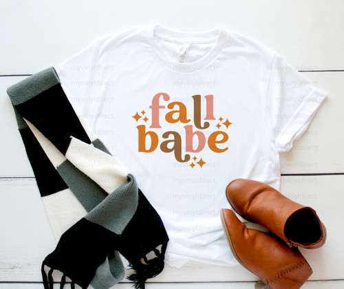 Fall Babe   Sublimation Transfer