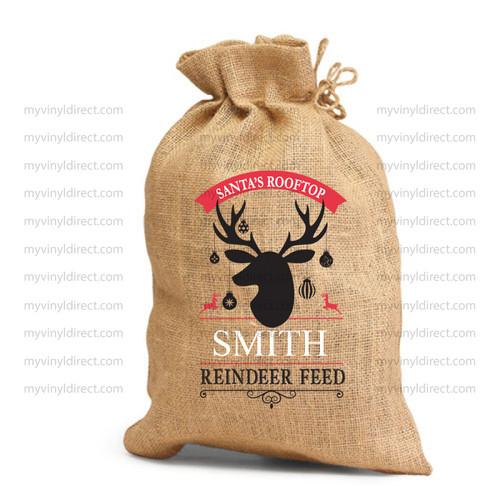 Reindeer Feed Digital Cut File