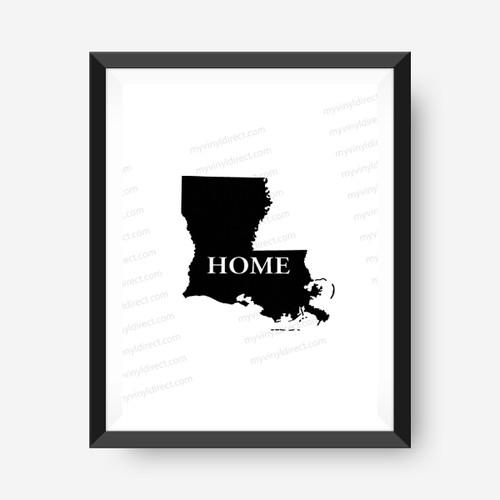 Louisiana Home Digital File