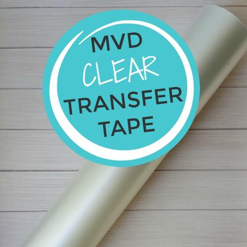 """Clear Transfer Tape 12""""x10 Yard Roll"""