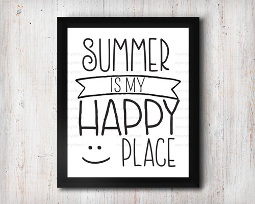 Summer Is My Happy Place Digital File