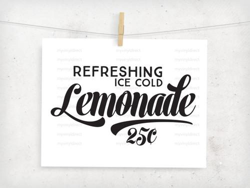 Lemonade Digital File