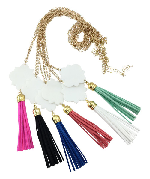 Emma Tassel Necklace