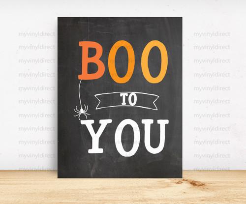 Boo To You Digital File