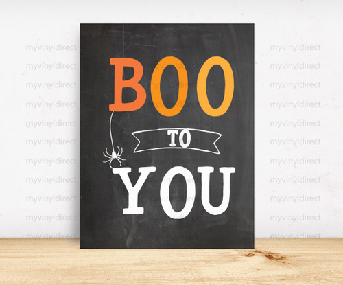 Boo To You Digital File