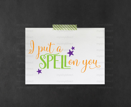 I Put A Spell On You Digital File