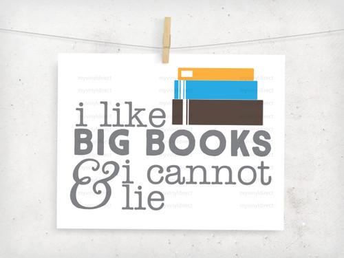 I Like Big Books Digital File