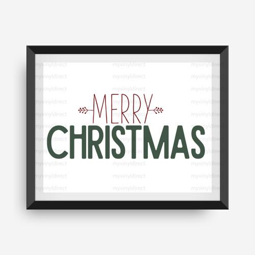 Merry Christmas Digital File