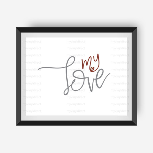 My Love Digital File