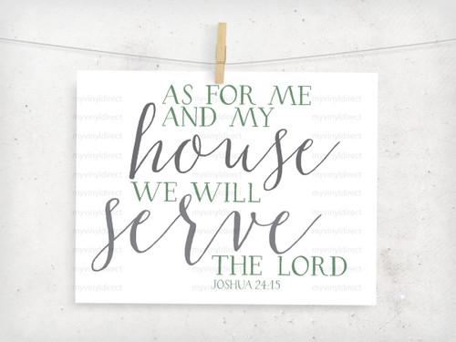 Joshua 24:15 Serve the Lord Digital Dilemma