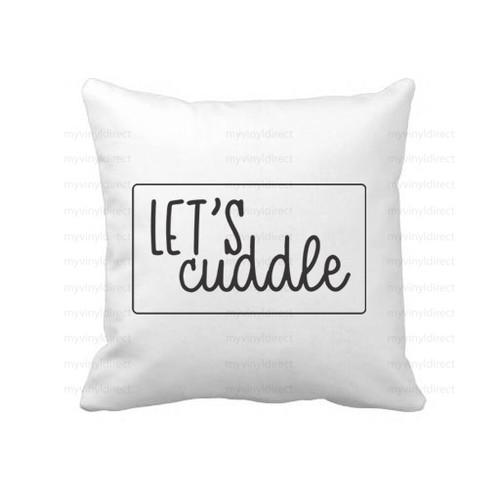 Let's Cuddle Digital Cutting File