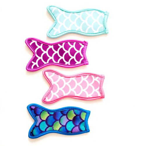 Mermaid Tail Freezer Pop Holder