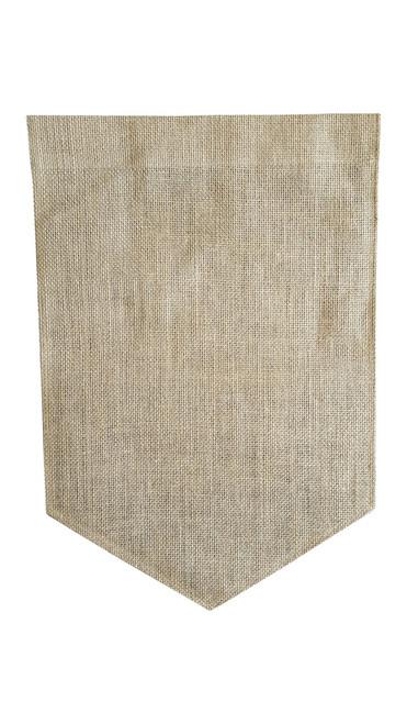 Pennant Burlap Garden Flag (Z10)