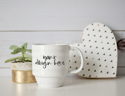 Plain White Mug Mock-Up #2
