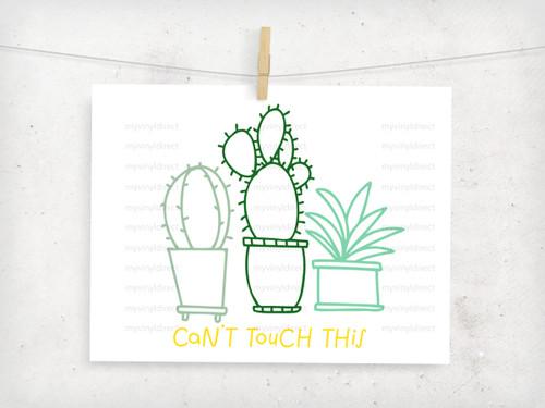 Cactus Trio Design Digital Cutting File