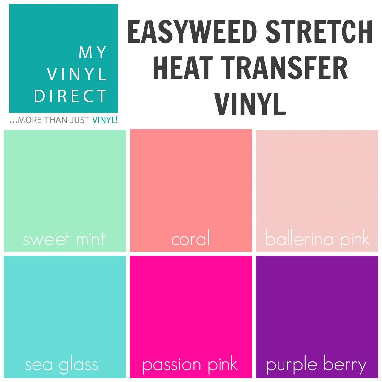 Siser Easyweed Stretch Heat Transfer Vinyl Sheet My Vinyl Direct