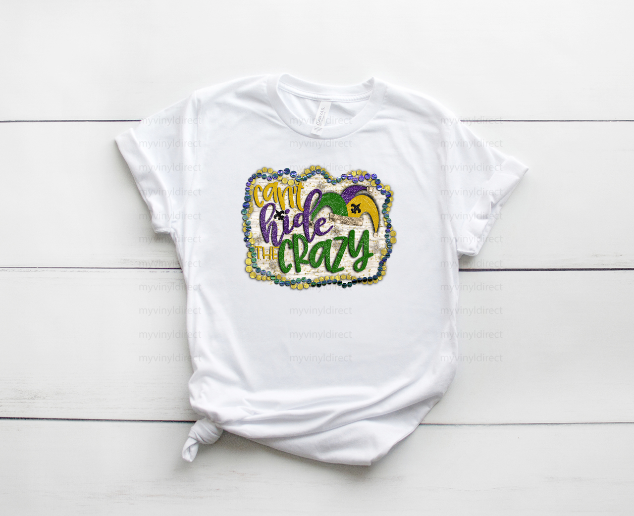 Can't Hide The Crazy | Sublimation Transfer