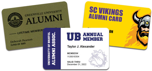 alumni membership cards