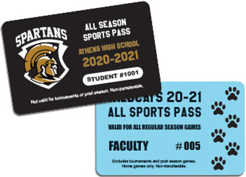 high school sports pass
