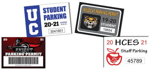 school parking permits