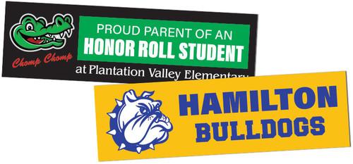 honor roll bumper stickers