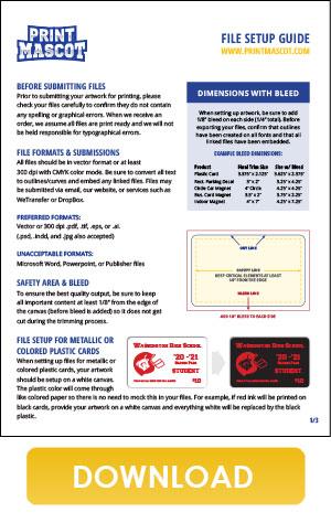 Download Print Mascot's File Setup Guide