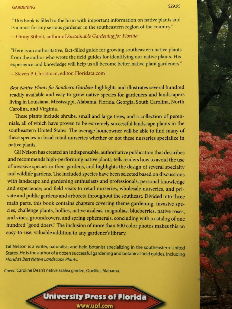 Best Native Plants for Southern Gardeners - Gil Nelson