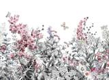 Flower Painting  Mural