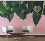 Leaves Wall 1 Mural
