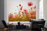 Flower Meadow 1 Mural