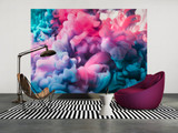 Coloured Smoke 1 Mural