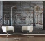 Concrete Posts Mural