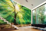Forest Light Mural