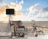 Beach Chair Mural