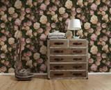 RW95376501A Floral Wallpaper