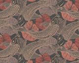 RW6671  Koi Fish Wallpaper