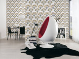 RW95377084A Art Deco Fan of feathers