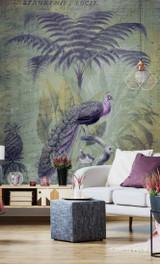 Peacock Mural 2