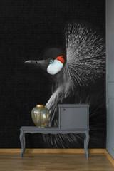 Woodpecker mural