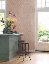T0575RT Floral wallpaper