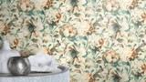 RW59485134R Floral Wallpaper