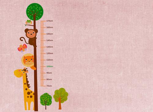 Kids Grow Stick 2 Mural