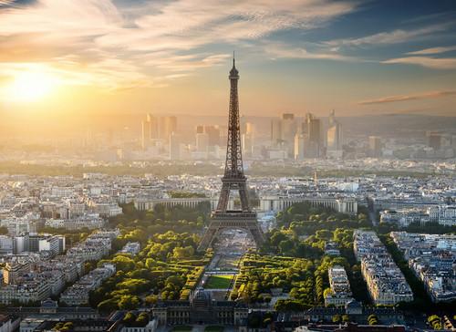 Eiffel Tower  Mural