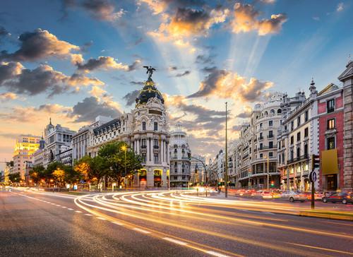 Gran Via Madrid Mural